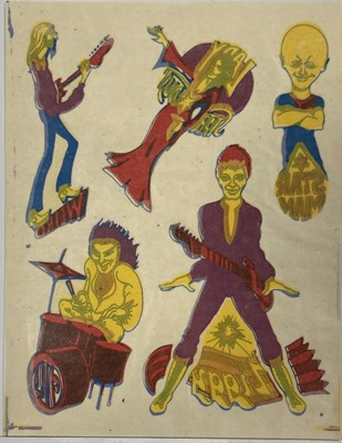 Lot 409 - DAVID BOWIE GEORGE UNDERWOOD SKIN TRANSFERS.
