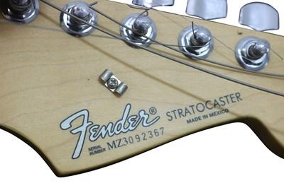 Lot 12 - SMASHED FENDER STRATOCASTER