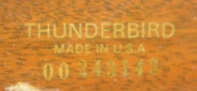 Lot 14 - GIBSON THUNDERBIRD BASS GUITAR 1973 ANNIVERSARY EDITION
