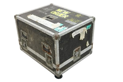 Lot 1 - NEW ORDER SPEAKER/AMP/EQUIPMENT FLIGHT CASE