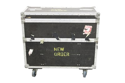 Lot 8 - NEW ORDER LARGE 2 SECTION FLIGHT CASE