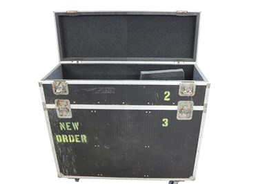 Lot 9 - NEW ORDER LARGE 2 SECTION FLIGHT CASE