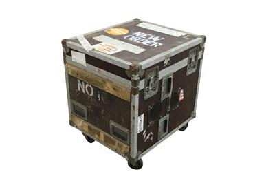 Lot 10 - NEW ORDER BASS AMPS FLIGHT CASE