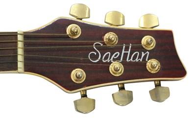 Lot 19 - SAEHAN SSC-75TRD SEMI-ACOUSTIC GUITAR
