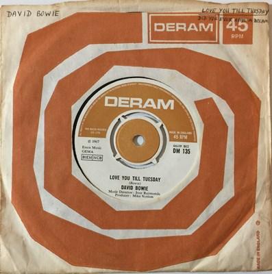 Lot 18-DAVID BOWIE - LOVE YOU TILL TUESDAY 7'' (ORIGINAL UK COPY - DERAM DM 135)