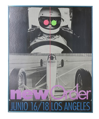 Lot 60 - NEW ORDER JUNE 16/18 LOS ANGELES POSTER