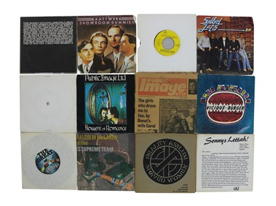 """Lot 66 - HOOKY'S POST PUNK 7"""" COLLECTION"""