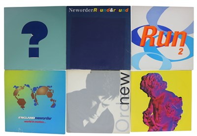 """Lot 74 - NEW ORDER MOSTLY UK LPs, 7"""" & 12"""" COLLECTION"""