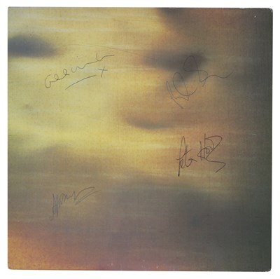 """Lot 80 - NEW ORDER SIGNED STATE OF THE NATION UK 12"""" SLEEVE"""
