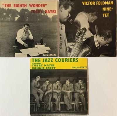 Lot 20-TUBBY HAYES/VICTOR VELDMAN - TEMPO EPs