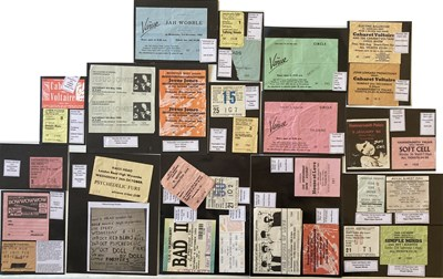 Lot 98 - POST PUNK / NEW WAVE / INDIE CONCERT TICKETS.