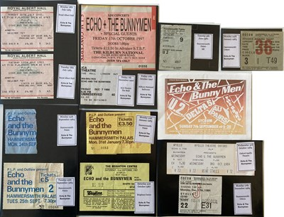 Lot 100 - U2 AND ECHO AND THE BUNNYMEN TICKETS.