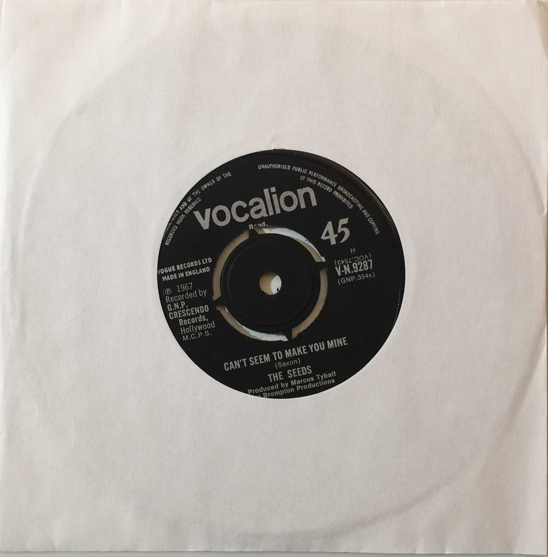 "Lot 264 - THE SEEDS - CAN'T SEEM TO MAKE YOU MINE 7"" (ORIGINAL UK VOCALION RELEASE - V-N- 9287)"
