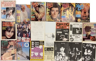 Lot 61 - 1980S ZINES AND MUSIC MAGAZINES