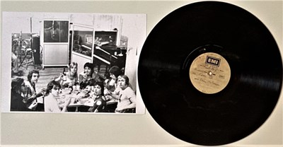 Lot 98 - PAUL McCARTNEY - EMI STUDIOS ACETATE LP 'THE BACK YARD TAPE'