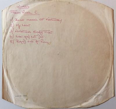 Lot 99 - PAUL McCARTNEY & WINGS - ONE HAND CLAPPING - ORIGINAL EMI STUDIOS LP ACETATE RECORDINGS