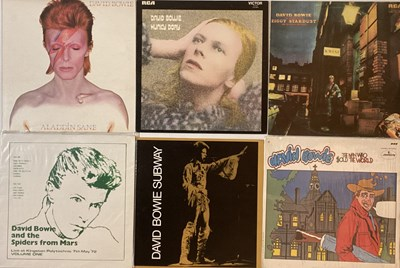 Lot 787 - DAVID BOWIE - LPs