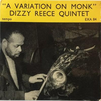Lot 23-DIZZY REECE QUINTET - A VARIATION ON MONK (ORIGINAL TEMPO EP - EXA 84)