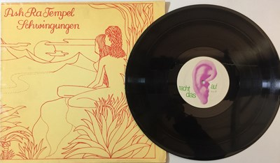 Lot 1 - ASH RA TEMPEL - SCHWINGUNGEN LP (ORIGINAL GERMAN PRESSING - OHR OMM 556.020)