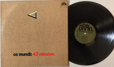 Lot 7 - OS MUNDI - 43 MINUTEN LP (ORIGINAL GERMAN PRESSING - BRAIN/METRONOME BRAIN 1015)