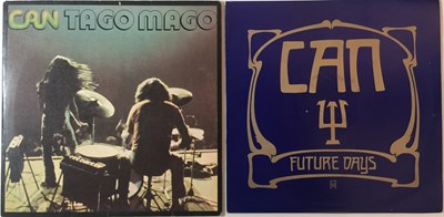 Lot 9 - CAN - FUTURE DAYS & TAGO MAGO - ORIGINAL UK PRESSING LPs