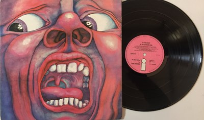 Lot 12 - KING CRIMSON - IN THE COURT OF THE CRIMSON KING LP (ORIGINAL UK PRESSING - ISLAND ILPS 9111).