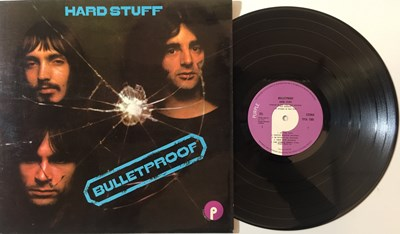 Lot 20 - HARD STUFF - BULLETPROOF LP (ORIGINAL UK PRESSING - PURPLE RECORDS TPSA 7505)
