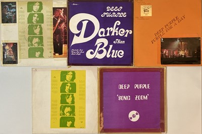 Lot 34 - DEEP PURPLE - PRIVATE PRESS LPs