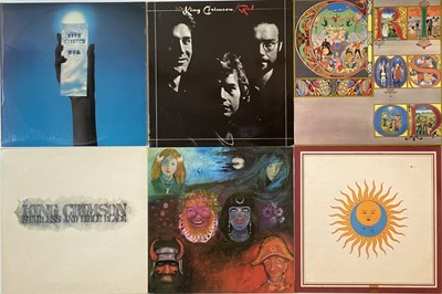 Lot 37 - KING CRIMSON - ISLAND LPs