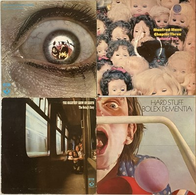 Lot 38 - PROG/ HEAVY/ BLUES-ROCK - LP RARITIES