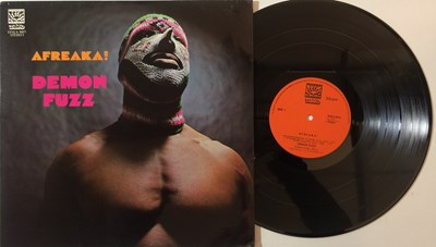 Lot 26 - DEMON FUZZ - AFREAKA! LP (ORIGINAL UK PRESSING DAWN DNLS 3013)