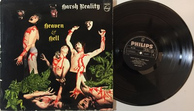 Lot 27 - HARSH REALITY - HEAVEN & HELL LP (ORIGINAL UK PRESSING PHILIPS SBL 7891)