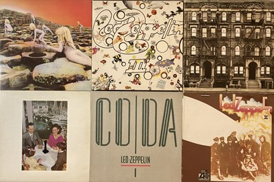 Lot 43 - LED ZEPPELIN - LPs