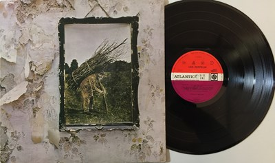Lot 44 - LED ZEPPELIN - IV LP (INVERTED FEATHER/ PLUM RED - 2401012)