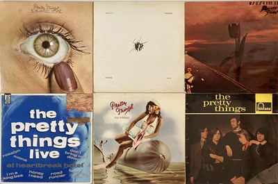 Lot 47 - THE PRETTY THINGS - LP COLLECTION