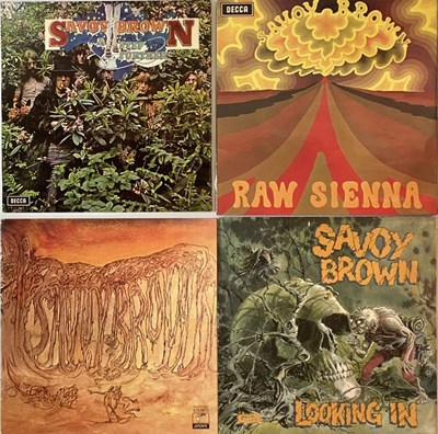 Lot 48 - SAVOY BROWN - LP RARITIES