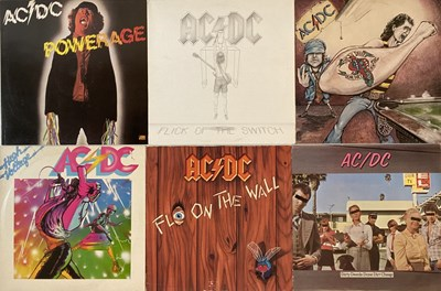 "Lot 49 - AC/DC - LPs & 12"" COLLECTION"