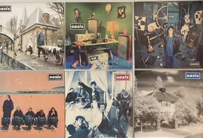 Lot 25-OASIS - CREATION 12'' ARCHIVE (SUPERSONIC TO D'YOU KNOW WHAT I MEAN)