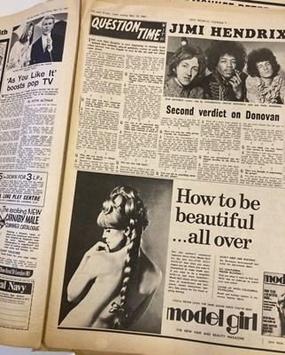 Lot 63 - 1967 FULL SET OF NME MAGAZINES.