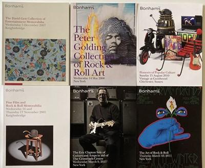 Lot 69 - BONHAMS MUSIC CATALOGUES / ASSORTED PROGRAMMES AND TICKETS.
