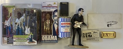 Lot 70 - ROCK AND POP COLLECTABLES - ELO PAPERWEIGHTS / FIGURINES ETC.