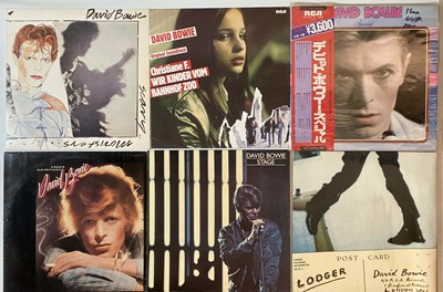 "Lot 941 - DAVID BOWIE - LP/12""/10"" COLLECTION"