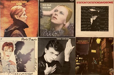 Lot 1012 - DAVID BOWIE - STUDIO LPs