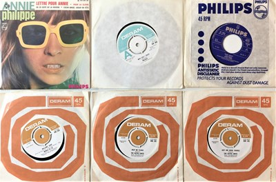 "Lot 1035 - PSYCH/ BEAT - 7"" PACK"