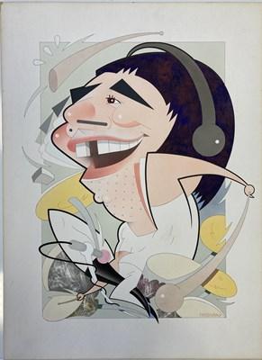 Lot 76 - THE WHO ORIGINAL ARTWORK - BUSH HOLLYHEAD.