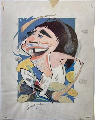 Lot 77 - THE WHO ORIGINAL ARTWORK - BUSH HOLLYHEAD.