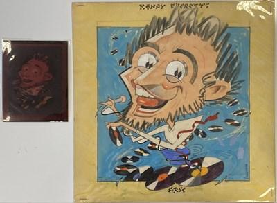 Lot 83 - BUSH HOLLYHEAD ORIGINAL ARTWORK - KENNY EVERETT.