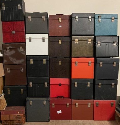 Lot 50 - RECORD CASE JOB LOT - LP SIZED - PROCEEDS TO CHARITY