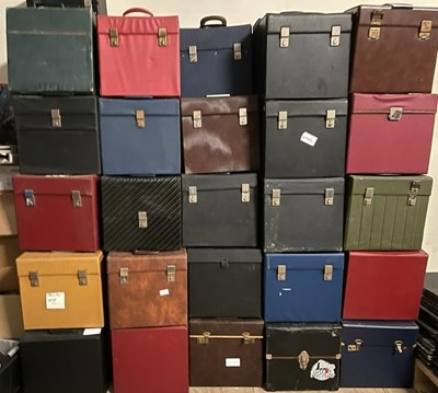 Lot 51 - RECORD CASE JOB LOT - LP SIZED - PROCEEDS TO CHARITY.