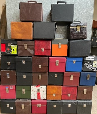 """Lot 54 - RECORD CASES JOB LOT - 7"""" - PROCEEDS TO CHARITY."""